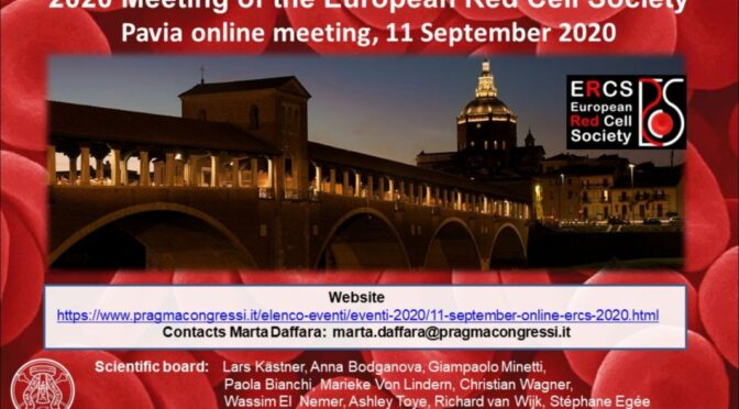 European Red Cell Society Meeting 2020